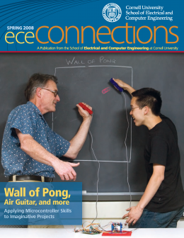 Spring 2008 ECE Connections Cover