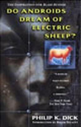 Book cover, Do Androids Dream of Electric Sheep? by Philip K. Dick