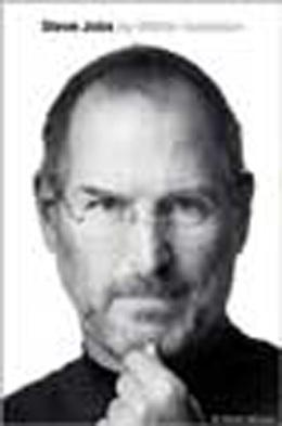 Book cover, Steve Jobs by Walter Isaacson