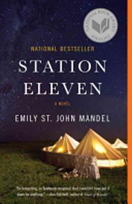 Book cover, Station Eleven by Emily St. John Mandel