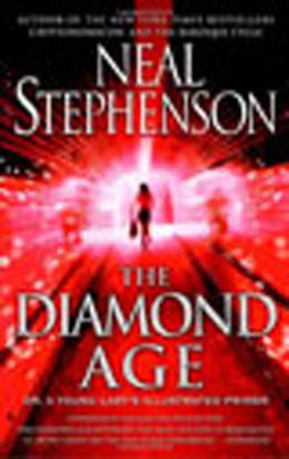 Book cover, The Diamond Age by Neil Stephenson