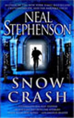 Book cover, Snow Crash by Neil Stephenson