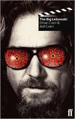 Book cover, Script of the The Big Lebowski by Ethan Coen