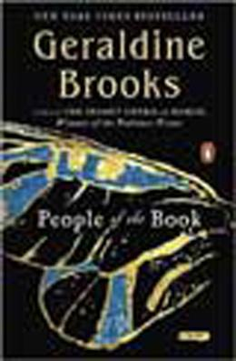 Book cover, People of the Book by Geraldine Brooks