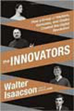 Book cover, The Innovators by Walter Isaacson