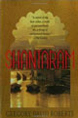 Book cover, Shantaram by Gregory David Roberts