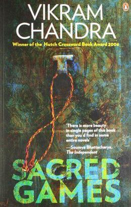 Book cover, Sacred Games by Vikram Chandra