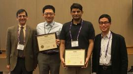 Brad Lehman (Editor-in-Chief, IEEE Transactions on Power Electronics), Minjie Chen, Khurram Afridi, and Henry Chung (Editor-in-Chief, IEEE Power Electronics Letters).