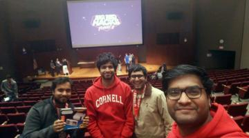 The Cerebro Team at Big Red Hacks